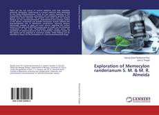 Buchcover von Exploration of Memecylon randerianum S. M. & M. R. Almeida