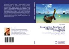 Bookcover of Geographical Conditions of International Tourism Development