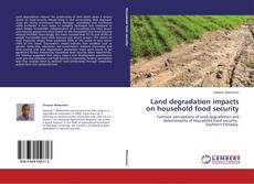 Couverture de Land degradation impacts on household food security