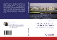 Capa do livro de Ecological Studies on El-Serw Fish Farm, Egypt