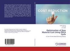 Portada del libro de Optimization of Raw Material Cost Using PDCA Cycle