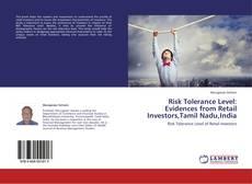 Buchcover von Risk Tolerance Level: Evidences from Retail Investors,Tamil Nadu,India