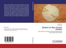 Buchcover von Studies on Rice Tungro Disease