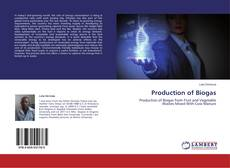 Portada del libro de Production of Biogas