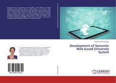 Couverture de Development of Semantic Web based University System