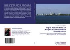 Bookcover of Triple Bottom Line Of Corporate Sustainable Development