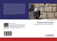 Capa do livro de Violence and its types