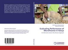 Couverture de Evaluating Performance of Microfinance in Kenya