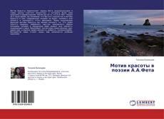 Copertina di Мотив красоты в поэзии А.А.Фета