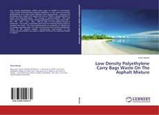 Обложка Low Density Polyethylene Carry Bags Waste On The Asphalt Mixture