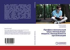 Bookcover of Профессиональный труд менеджера: модель менеджмента организации