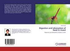 Digestion and absorption of food in insect kitap kapağı