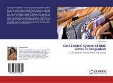 Capa do livro de Cost Control System of RMG Sector in Bangladesh