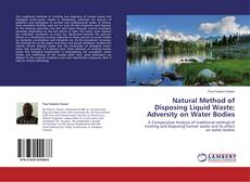 Bookcover of Natural Method of Disposing Liquid Waste; Adversity on Water Bodies