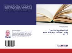 Borítókép a  Continuing Medical Education Activities - Iraq 2013 - hoz
