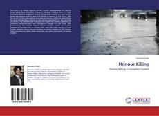 Обложка Honour Killing