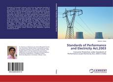Portada del libro de Standards of Performance and Electricity Act,2003