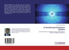 Couverture de A Distributed Database System