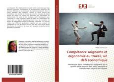 Portada del libro de Compétence soignante et ergonomie au travail, un défi économique
