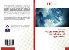 Copertina di Analyse d'erreurs des constellations et applications