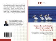 L'approche participative dans la protection de l'environnement kitap kapağı