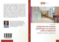 Couverture de Intégration de modèles d'éclairage à un code de calcul en bâtiment