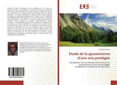 Etude de la gouvernance d'une aire protégée kitap kapağı