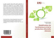 Buchcover von Modélisation de l'architecture et de la production d'Acmella oleracea