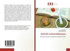 Bookcover of Activité anticandidosique