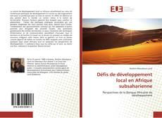 Borítókép a  Défis de développement local en Afrique subsaharienne - hoz