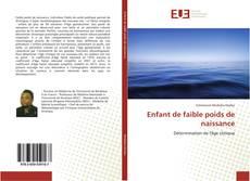 Bookcover of Enfant de faible poids de naissance