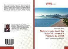 Copertina di Régime international des droits de l'homme à l'épreuve du climat