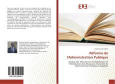 Couverture de Réforme de l'Administration Publique