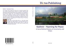 Bookcover of Kashmir - Yearning for Peace