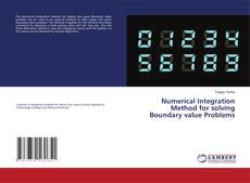 Buchcover von Numerical Integration Method for solving Boundary value Problems
