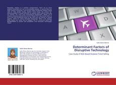 Determinant Factors of Disruptive Technology kitap kapağı