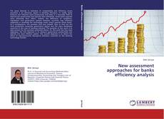 Bookcover of New assessment approaches for banks efficiency analysis
