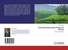 Bookcover of Inclusive Education Policy in Kenya