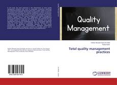 Bookcover of Total quality management practices