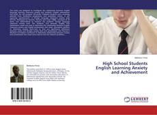 Portada del libro de High School Students English Learning Anxiety and Achievement