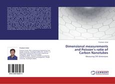 Capa do livro de Dimensional measurements and Poisson's ratio of Carbon Nanotubes