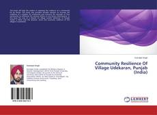 Bookcover of Community Resilience Of Village Udekaran, Punjab (India)