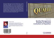 Buchcover von Quality Management Practices in Financial Institutions of Rajasthan