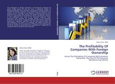 Portada del libro de The Profitability Of Companies With Foreign Ownership
