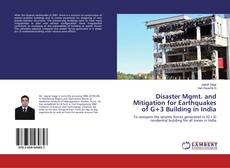 Disaster Mgmt. and Mitigation for Earthquakes of G+3 Building in India kitap kapağı