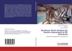 Bookcover of Nonlinear Static Analysis for Seismic Assessment of RC Structures