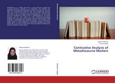 Copertina di Contrastive Analysis of Metadiscourse Markers