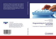 Couverture de Programming In C and Data Structures