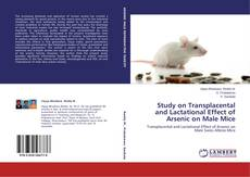 Bookcover of Study on Transplacental and Lactational Effect of Arsenic on Male Mice