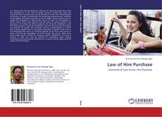 Bookcover of Law of Hire Purchase